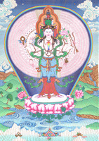 Avalokiteshvara - click to enlarge